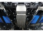 Комплект алюминиевых защит для Toyota Land Cruiser 300 2021-