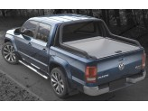 "Крышка Mountain Top для Volkswagen Amarok ""TOP ROLL"", цвет только серебристый (под оригинальную дугу), изображение 2"