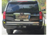Хромированная накладка для Chevrolet Tahoe на задний бампер, полированная нержавеющая сталь