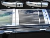 Хромированные накладки на дверные ручки Cadillac Escalade ) из 8 частей