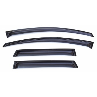 Дефлекторы боковых окон SIM для Ford Kuga, темные (акрил)