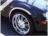 Хромированные накладки для Hummer H3 на колёсные арки из 6 ч. (полир. нерж. сталь), изображение 4