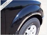 Хромированные накладки для Hummer H3 на колёсные арки из 6 ч. (полир. нерж. сталь), изображение 2