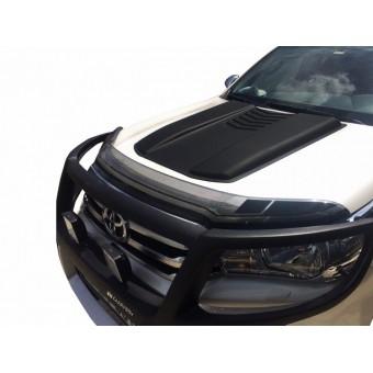 Накладка на воздуховод капота для Toyota HiLux (пластик ABS)