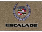 """Текстильные коврики для Cadillac Escalade в салон """"Classic"""" из 3 частей ( 1-ый и 2-ой ряд), изображение 3"""