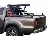 Защитная дуга с багажником для Mercedes-Benz X-Class, сталь 3 мм