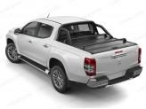 """Крышка Mountain Top для Fiat Fullback """"TOP ROLL"""", цвет черный c защитной дугой, изображение 5"""