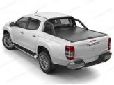 """Крышка Mountain Top для Fiat Fullback """"TOP ROLL"""", цвет черный c защитной дугой"""