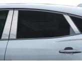Хромированные накладки на дверные стойки для Jaguar E-PACE из 6 частей, полир. нерж. сталь
