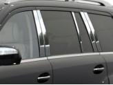 Хромированные молдинги боковых окон Mercedes-Benz GL