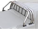 Защитная дуга 63 мм для Volkswagen Amarok кузов пикапа а комплекте с решеткой