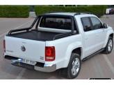 """Защитная дуга 76 мм для Volkswagen Amarok  """"PROBAR"""" в кузов пикапа, цвет черный"""