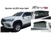 Спойлер на кабину со стоп сигналом Toyota Hilux Revo 2015+