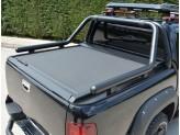 """Крышка на Fiat Fullback серия """"Omback"""" с дугой Cobra 76 мм, цвет матово-черный"""