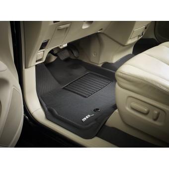 """Коврики """"3D MAXpider"""" для Mercedes-Benz GLE, цвет черный (можно заказать бежевые и серые)"""