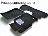 """Текстильные 3D коврики """"Euromat В"""" в салон, цвет черный"""