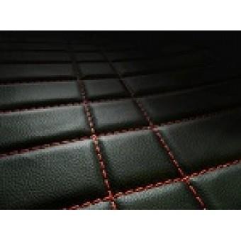 """""""Кожаный"""" коврик багажника из высокосортного полиуретана для Mercedes-Benz G-class 463, цвет черный"""