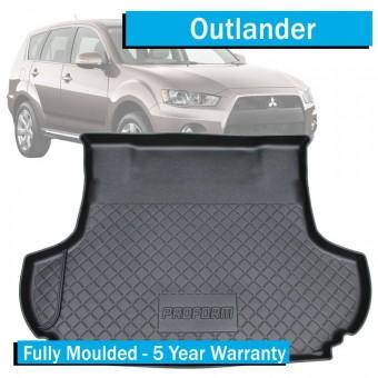 Коврик багажника Proform для Mitsubishi Outlander, цвет черный