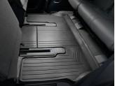 Коврики WEATHERTECH для Toyota Sequoia 3-ий ряд ***, цвет черный 2008-2017 г.