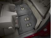 Коврики WEATHERTECH для Chevrolet Suburban 3-ий ряд, цвет черный , для bench seating