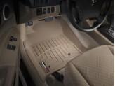 Коврики WEATHERTECH для Toyota Tacoma передние, цвет бежевый для Double Cab для мод. с 2008 г.