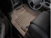 Коврики WEATHERTECH для Toyota TUNDRA передние, цвет бежевый для мод. с 2012 г