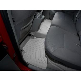 Коврики WEATHERTECH для Toyota Tacoma задние, цвет серый для Double Cab с 2008 г.