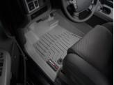 Коврики WEATHERTECH для Toyota TUNDRA передние, цвет серый для мод. с 2012 г