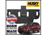 """Коврики Husky liners для Ford Explorer 3-ий ряд """"X-act Contour®"""", цвет черный"""