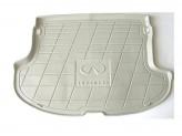 Коврик багажника резиновый для Infiniti FX35/45, цвет бежевый