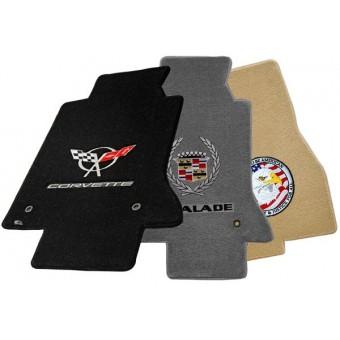 """Текстильные коврики для Chevrolet Camaro в салон """"ULTIMAT"""" из 4 частей (логотип запрашивайте)"""
