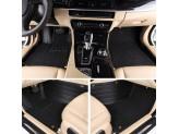 Коврики для Jaguar F-PACE в салон комбинированные, цвет черный