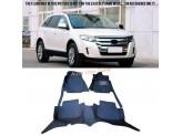 """""""Кожаные"""" коврики для Ford Edge в салон, цвет черный"""
