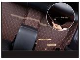 """""""Кожаные"""" коврики для Kia Sportage в салон, цвет черный, изображение 4"""