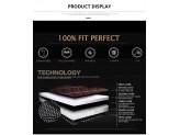 """""""Кожаные"""" коврики для Kia Sportage в салон, цвет черный, изображение 5"""