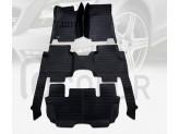 """""""Кожаные"""" коврики для Mercedes-Benz R Class в салон, цвет черный"""
