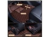 """""""Кожаные"""" коврики для Kia Sportage в салон, цвет черный, изображение 3"""