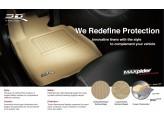 """Коврики """"3D MAXpider"""" для Nissan X-Trail T32, цвет черный (можно заказать бежевые и серые), изображение 5"""