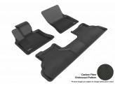 Коврики 3D MAXpider для BMW X6, цвет черный