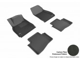 """Коврики """"3D MAXpider"""" для Cadillac XTC, цвет черный"""