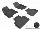 Коврики 3D MAXpider для Infiniti FX35/50, цвет черный 2009-2017