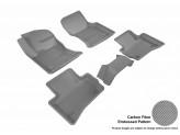 """Коврики """"3D MAXpider"""" для Jaguar F-PACE, цвет серый"""