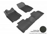 """Коврики """"3D MAXpider"""" для Nissan X-Trail T32, цвет черный (можно заказать бежевые и серые), изображение 2"""