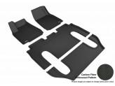 Коврики 3D MAXpider для Tesla Model X, цвет черный