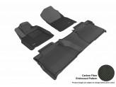 """Коврики """"3D MAXpider"""" для Toyota TUNDRA, для DOUBLE CAB, цвет черный"""