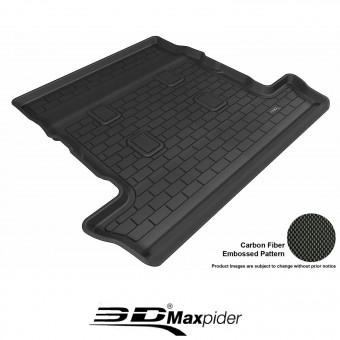 """Коврик багажника """"3D MAXpider"""" для Lexus LX-570, цвет черный"""