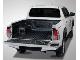 Ковер-вставка в кузов пластиковая для двойной кабины под борта