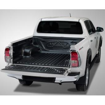 Вкладыш для Toyota HiLux в кузов пластиковая для двойной кабины под борта