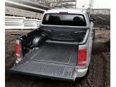 Ковер-вставка в кузов пластиковая для двойной кабины с заходом на борт