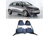 """""""Кожаные"""" коврики для Mercedes-Benz B-class в салон, цвет черный"""